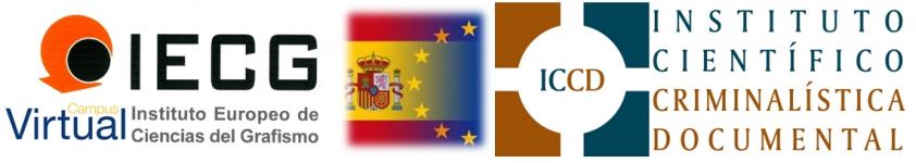 INSTITUTO CIENTIFICO DE CRIMINALISTICA DOCUMENTAL & INSTITUTO EUROPEO DE CIENCIAS DEL GRAFISMO